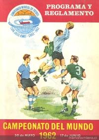 Campeonato del mundo : 30 de mayo-7 de junio de 1962 : programa y reglamento