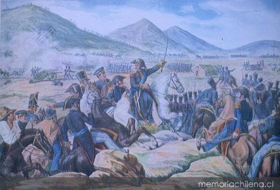 Batalla de Chacabuco, 1817