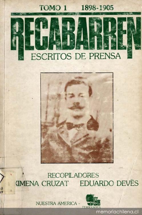 Ximena Cruzat Amunátegui, Eduardo Devés Valdés