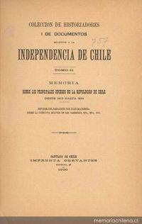 Carta del gobernador de Talcahuano Rafael de la Sotta, 1813