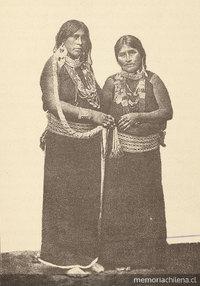 Araucanian women