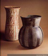 Vasijas prehispánicas chilenas