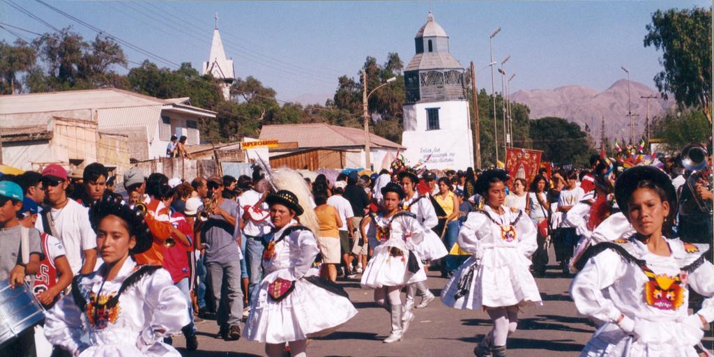 grande Virgen baile
