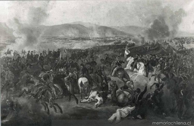 Batalla de Maipú, 1818