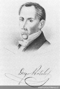 Diego Portales, 1793-1837
