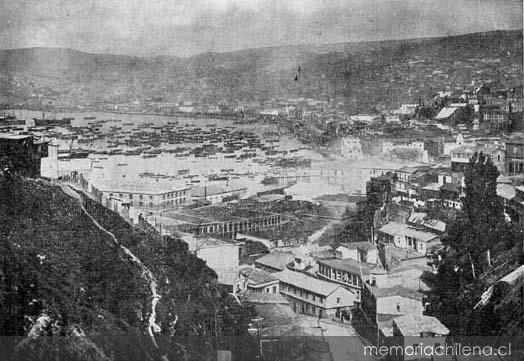 Resultado de imagen para ciudad de Valparaíso 1828