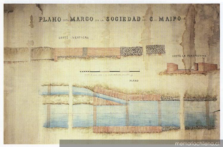 Plano - Memoria Chilena, Biblioteca Nacional de Chile