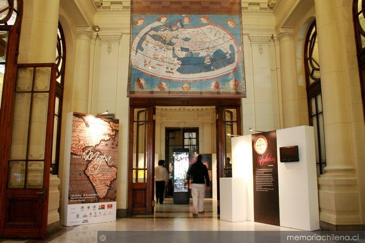 Vista desde el hall de acceso del sector alameda memoria for 1500 salon alameda